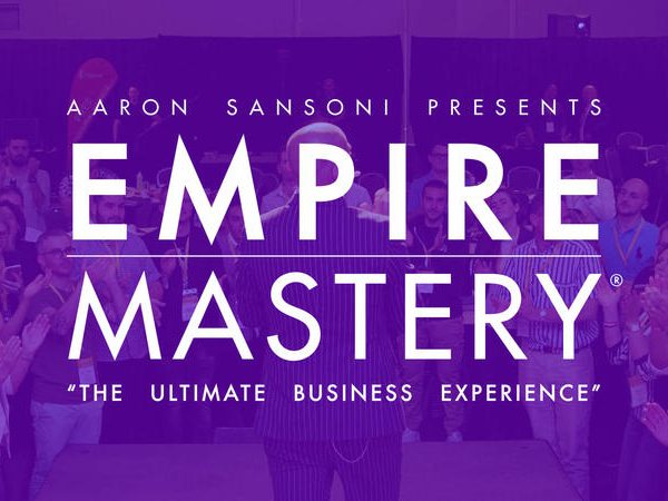 Grow your business with empire mastery aaron sansoni training.