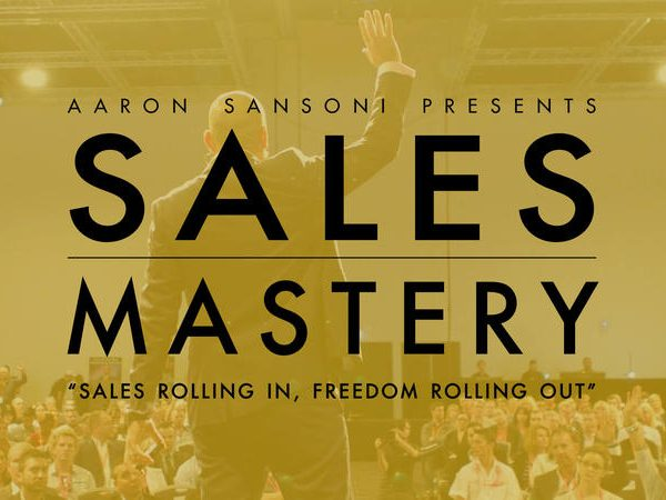 Sales mastery course by Aaron Sansoni