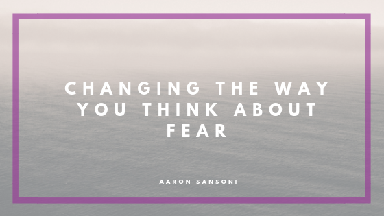 Aaron Sansoni - Fear Header