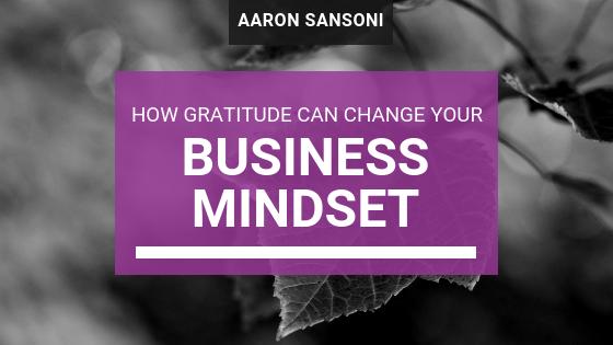 Aaron Sansoni - Gratitude Header